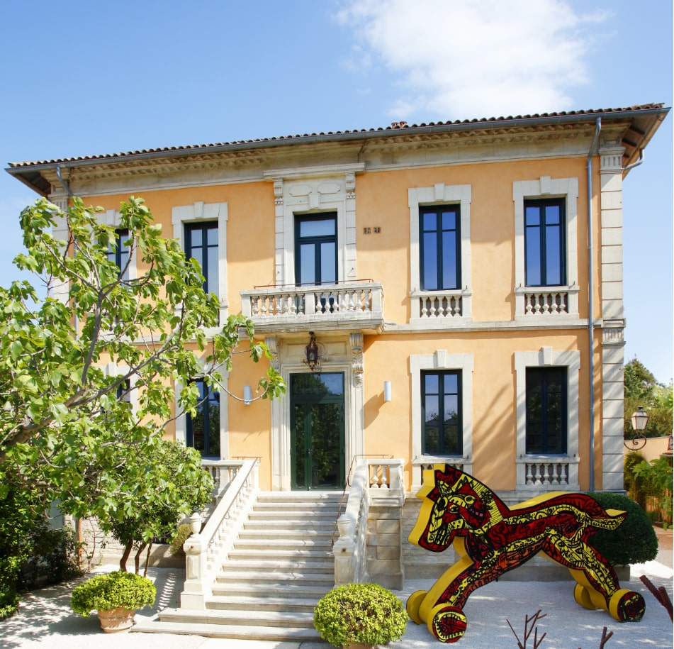 fondation villa Datris extérieur