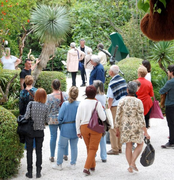 Visite Fondation Villa Datris